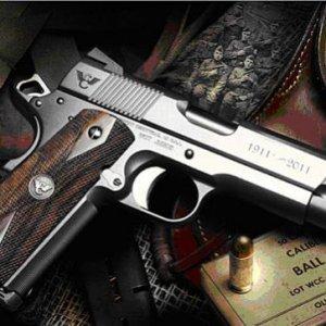 Browning 1911 handgun